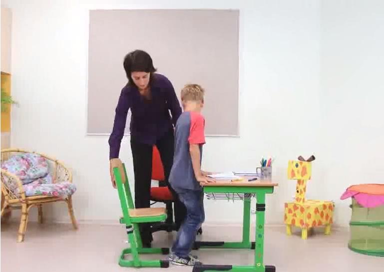 AKO VYBRAŤ SPRÁVNY STÔL, stoličku A ŠKOLskú TAŠKU