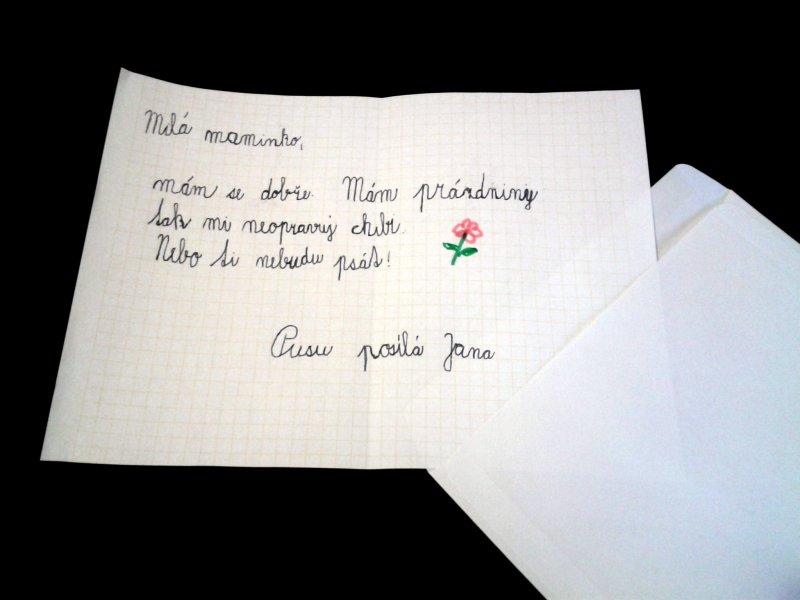 Letné tábory - Nehnevajte sa na deti za chyby v listoch
