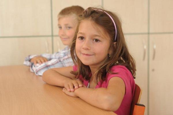 Ľavák v škole